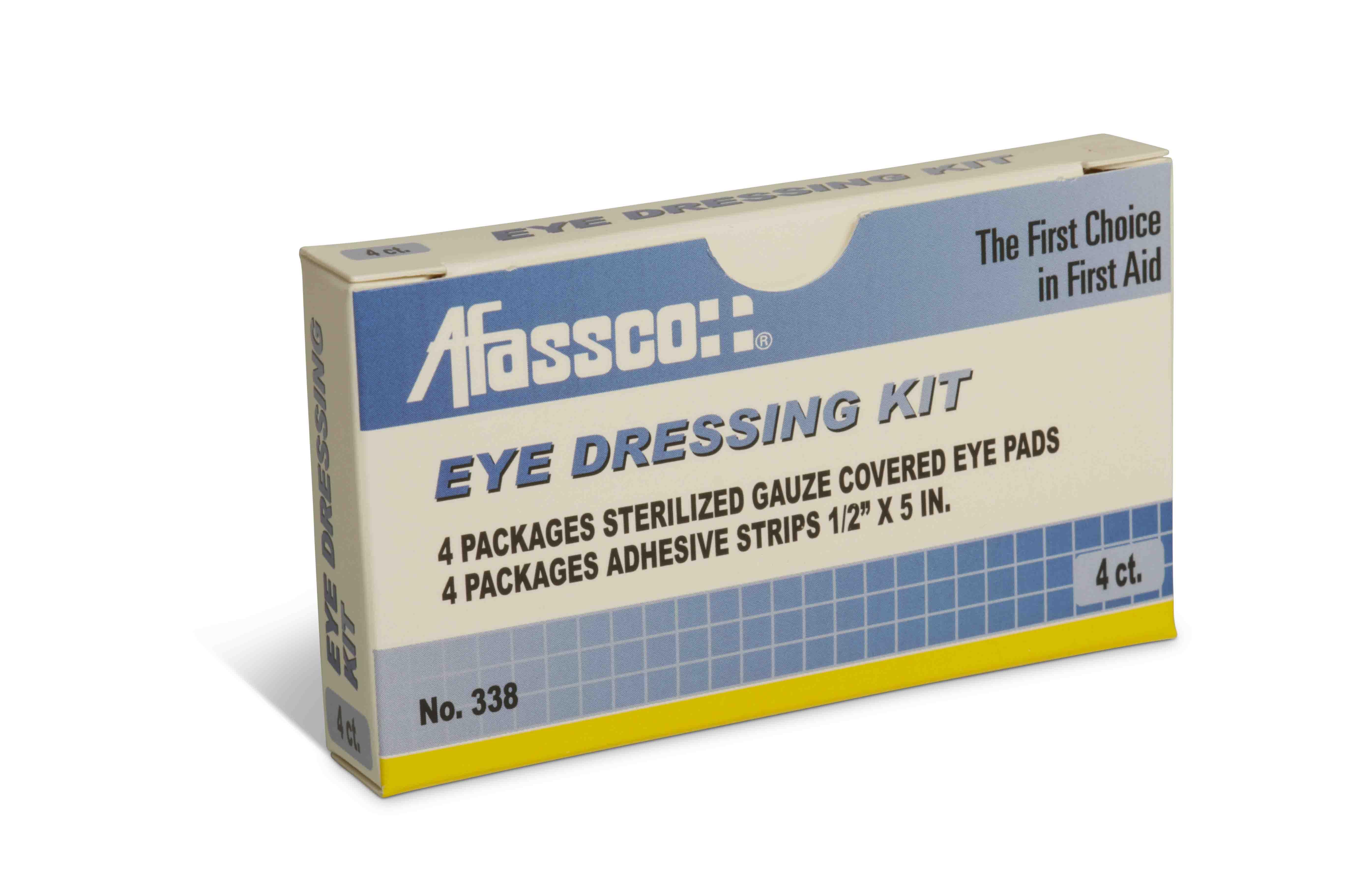 eye dressing kit tape pads for 2 eyes. Black Bedroom Furniture Sets. Home Design Ideas